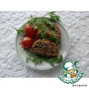 Рецепт Рулет мясной с грибами