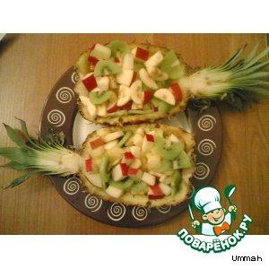 Фруктовый салат простой рецепт с фотографиями