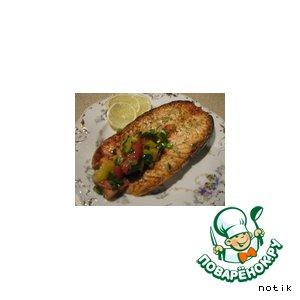 Семга-гриль простой рецепт с фото как готовить