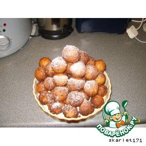 Как приготовить Творожные пончики домашний пошаговый рецепт с фотографиями