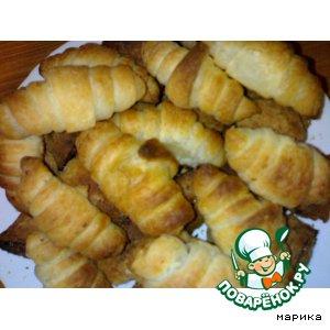 Домашний рецепт приготовления с фото Слоеные круассаны