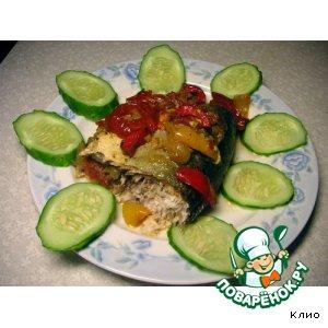 Вкусный рецепт с фото Сиг с овощами в рукаве