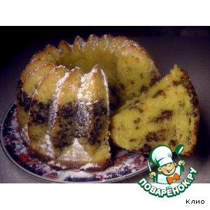 Рецепт Апельсиново-шоколадный кекс
