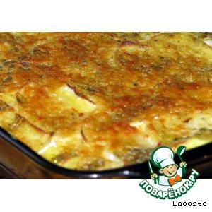 Как приготовить Картофельная запеканка простой рецепт приготовления с фото пошагово