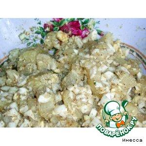 Рецепт Картофельный низкокалорийный салат