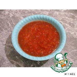 Рецепт Суп томатный с рисом и фрикадельками