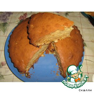 Рецепт Очень вкусный кекс