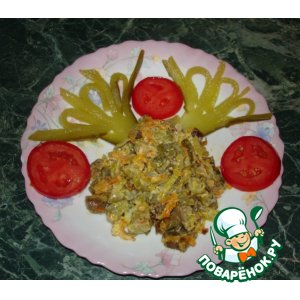 Мясной салат рецепт с фото пошагово как готовить