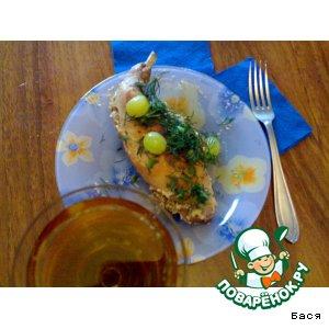 Как готовить Кроличьи ножки в сливочно-винном соусе с виноградом простой рецепт с фотографиями пошагово