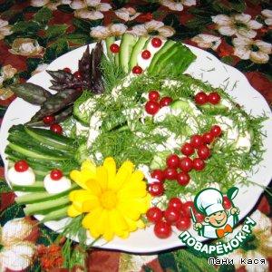 Рецепт Красочная дачная закуска