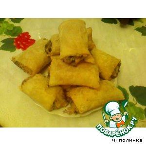 Рецепт Слойки с сыром и зеленью