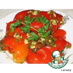 Рецепт Консервированный болгарский перец