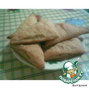 Рецепт Слоеные треугольники