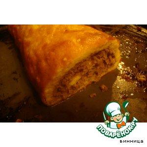 Рецепт Рулет яично-мясной