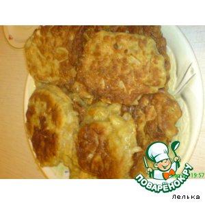 Рецепт Оладушки с капустой