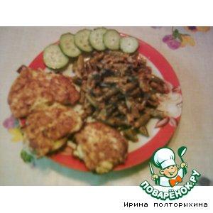 Рецепт Куриное филе в сырной шубке