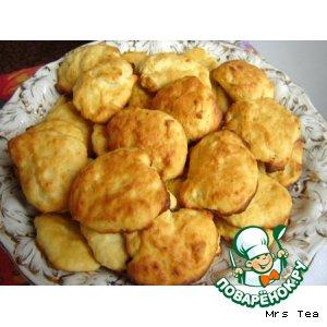 Печенье творожное с апельсиновой цедрой простой рецепт приготовления с фото