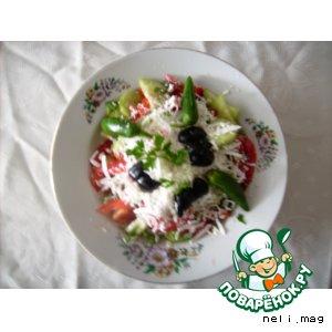"Рецепт ""Шопский"" салат"