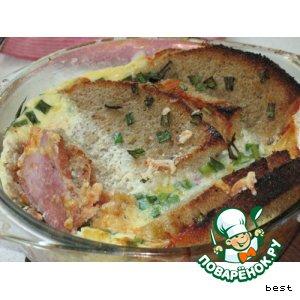 Рецепт Запеканка из сэндвичей