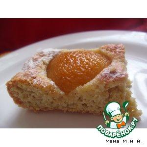 Как готовить рецепт с фотографиями Квадратики с персиками