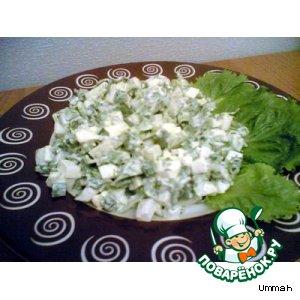 """Салат """"Летний"""" домашний рецепт приготовления с фото пошагово готовим"""