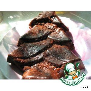 Рецепт Медово-шоколадно-банановый торт