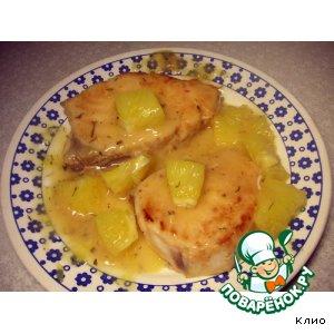 Рецепт Масляная рыба в апельсиновом соусе