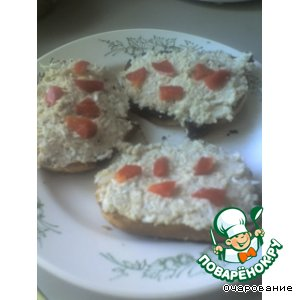 "Рецепт Бутерброды ""Куриный пир"""