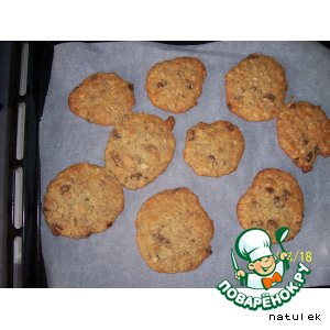 Рецепт Печенье с мюсли
