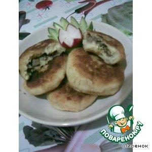 Рецепт Картофельные котлетки с начинкой