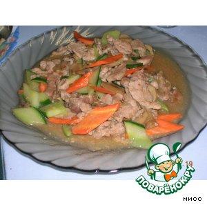 Рецепт Мясо по-китайски