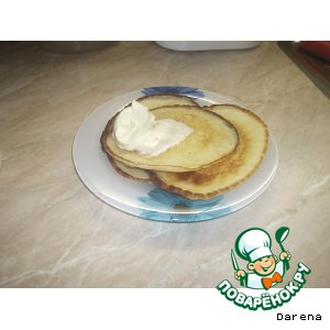 Рецепт Блинчики на завтрак на кефире