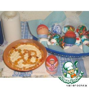 Рецепт Пасха без творога
