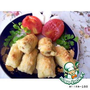 Рецепт Картофельные пирожки с начинкой