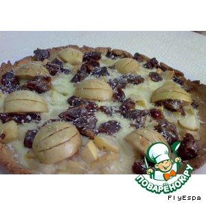 Рецепт Яблочно-финиковый пирог