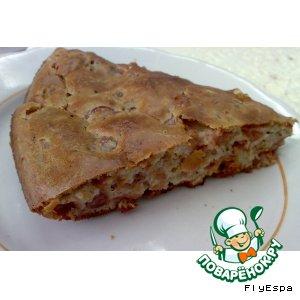 Рецепт Простой вишневый пирог