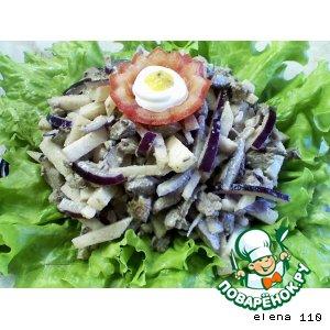 Как приготовить Тeплый салат из куриной печени домашний рецепт приготовления с фотографиями пошагово