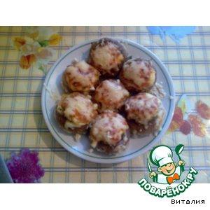 Рецепт Грибные корзиночки