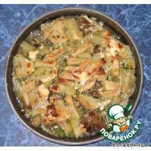 Рецепт Рыба с овощами в духовке