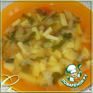 Рецепт Весенний суп с молодой крапивой