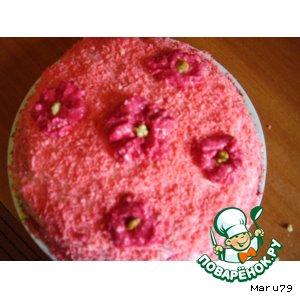 Рецепт Розовый торт