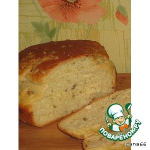 Рецепт Домашний хлебушек с семенами подсолнуха