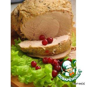 Рецепт Свинина, запеченная в фольге