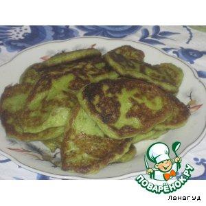 Рецепт Зеленые оладушки