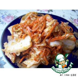 Салат из пекинской капусты вкусный рецепт с фото пошагово готовим