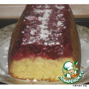 Вишневый кекс вкусный рецепт приготовления с фотографиями пошагово