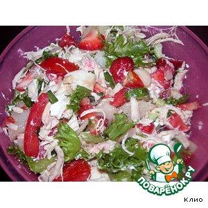 Рецепт Цветной салатик