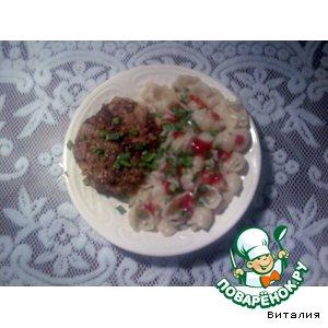 Рецепт Зразы с грибами и яйцом