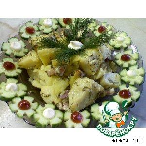 Рецепт Картошечка, запечeнная с беконом
