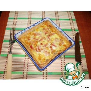 Рецепт Пицца из песочного теста